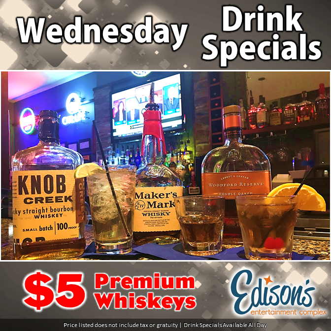 whiskey specials