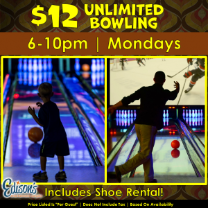 $12 Unlimited Bowling