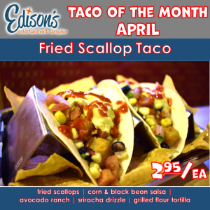 taco of the month