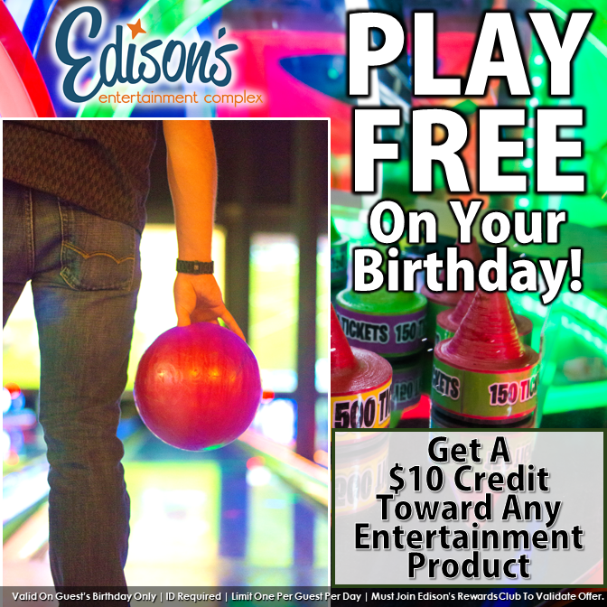 Play Free on Your Birthday