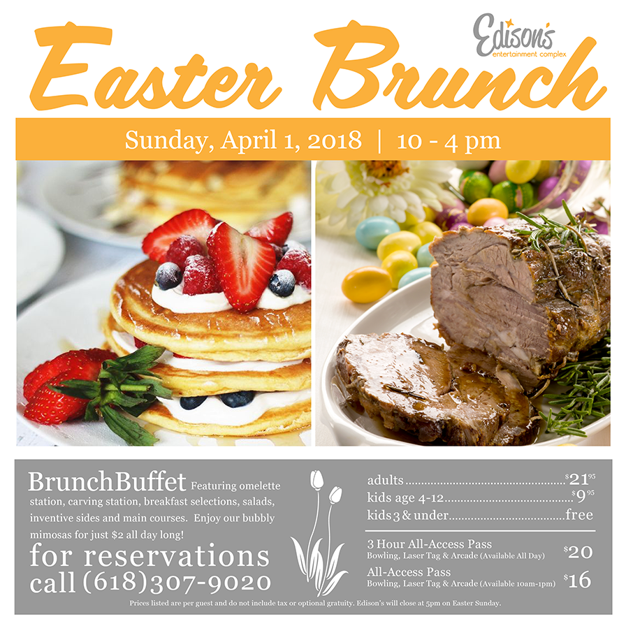 Easter Brunch 2018