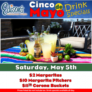 cinco de mayo drink specials