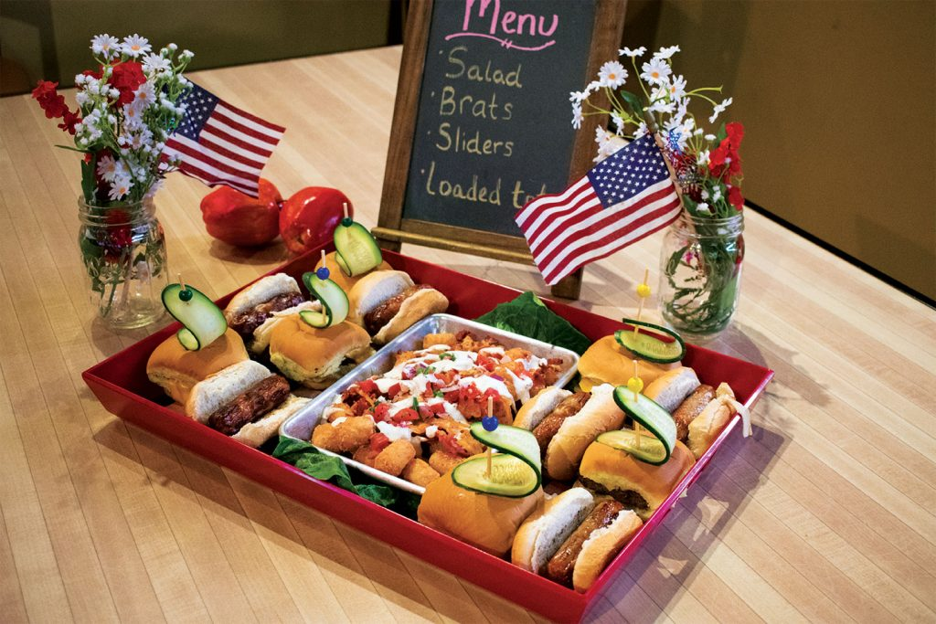 Edison's All American Grill food package