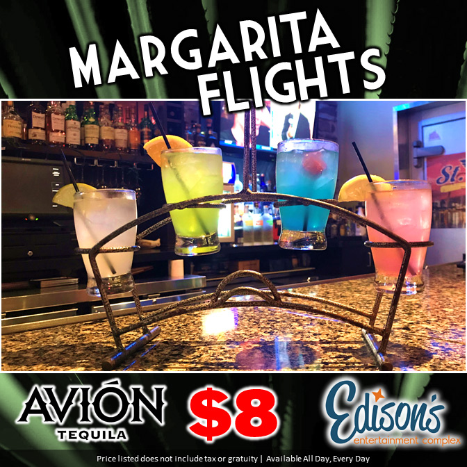 edisons margarita flights