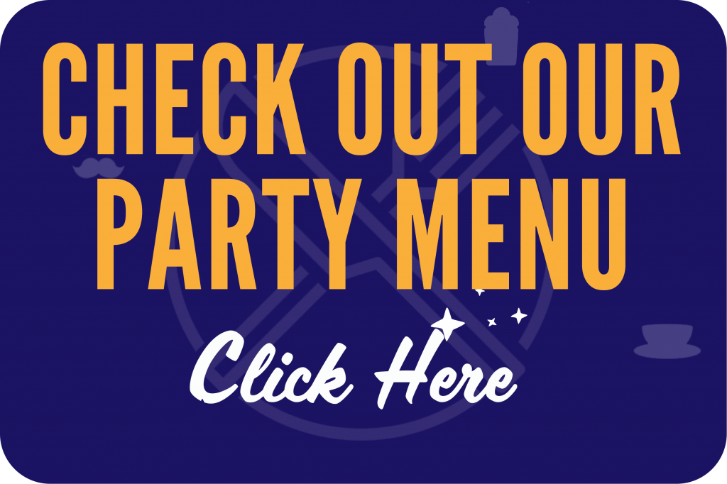 edisons party menu