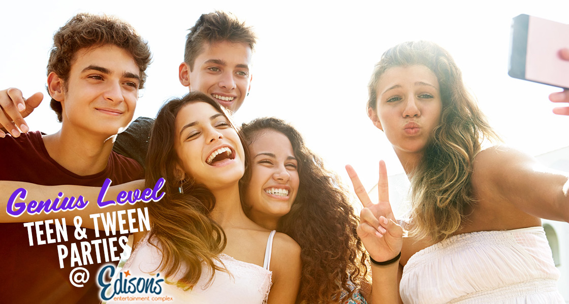Edison's Teen & Tween party package