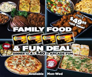 Family Food and Fun Deal